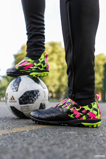 First Ever Adidas Glitch Turf Boot Skins Released Footy Headlines