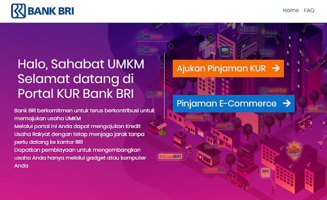 Cara Mengajukan Pinjaman KUR BRI ONLINE 2021 Terbaru
