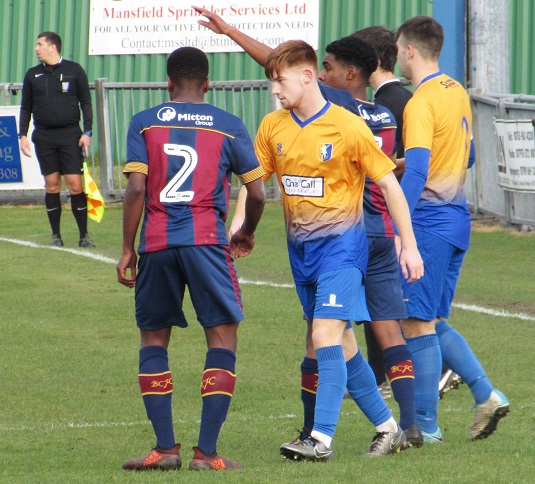 THE66POW: Mansfield Town 1 v Bradford City 0 - EFLYA U18