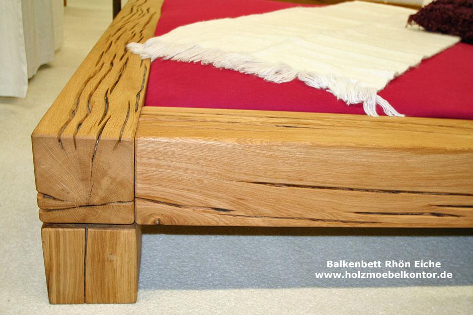 wohnkantine wohnideen vom holzm belkontor balkenbett. Black Bedroom Furniture Sets. Home Design Ideas