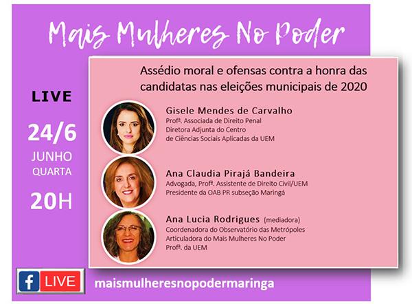 Movimento Mais Mulheres no Poder. Café com Jornalista