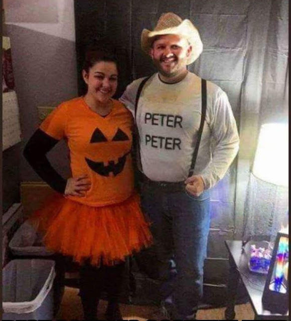 Peter Peter The Pumpkin Eater Couple Halloween Costume