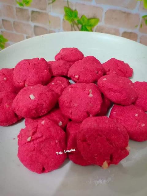 Biskut Red Velvet