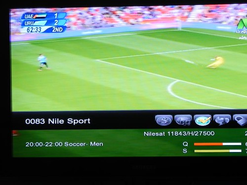 Nile Sports Biss Key and Frequency Arabsat 5C at 20.0°E