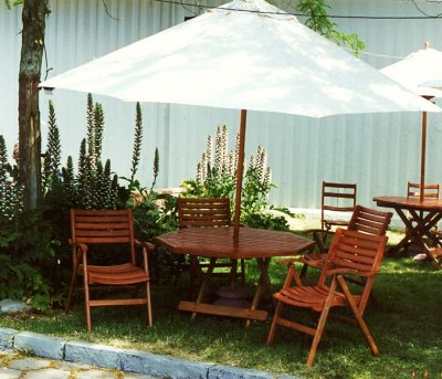 Adornos Jardín Quitasol Terraza