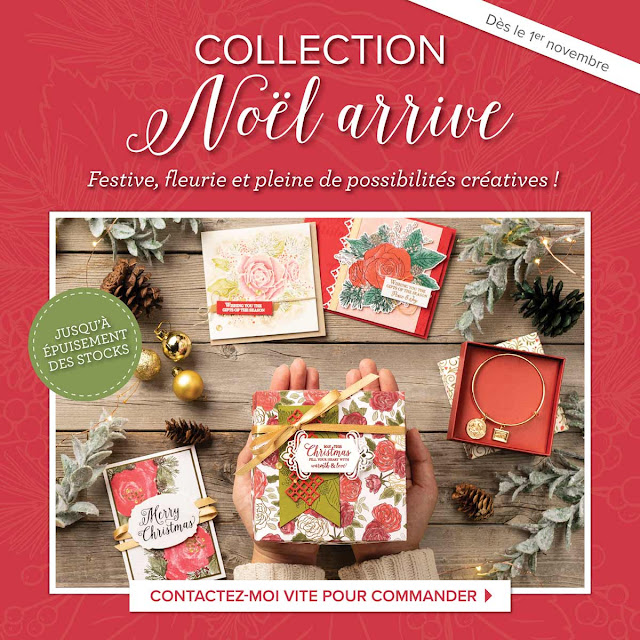 Collection Noël arrive Stampin' Up!