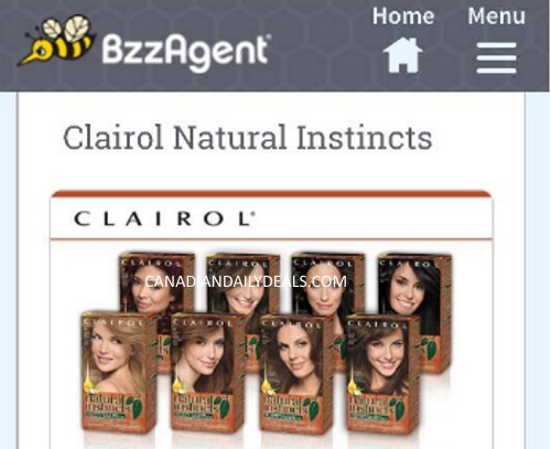 Bzzagent Clairol Natural Instincts Campaign