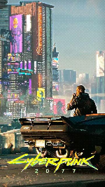 Retro Cyberpunk 2077 - 8 bits