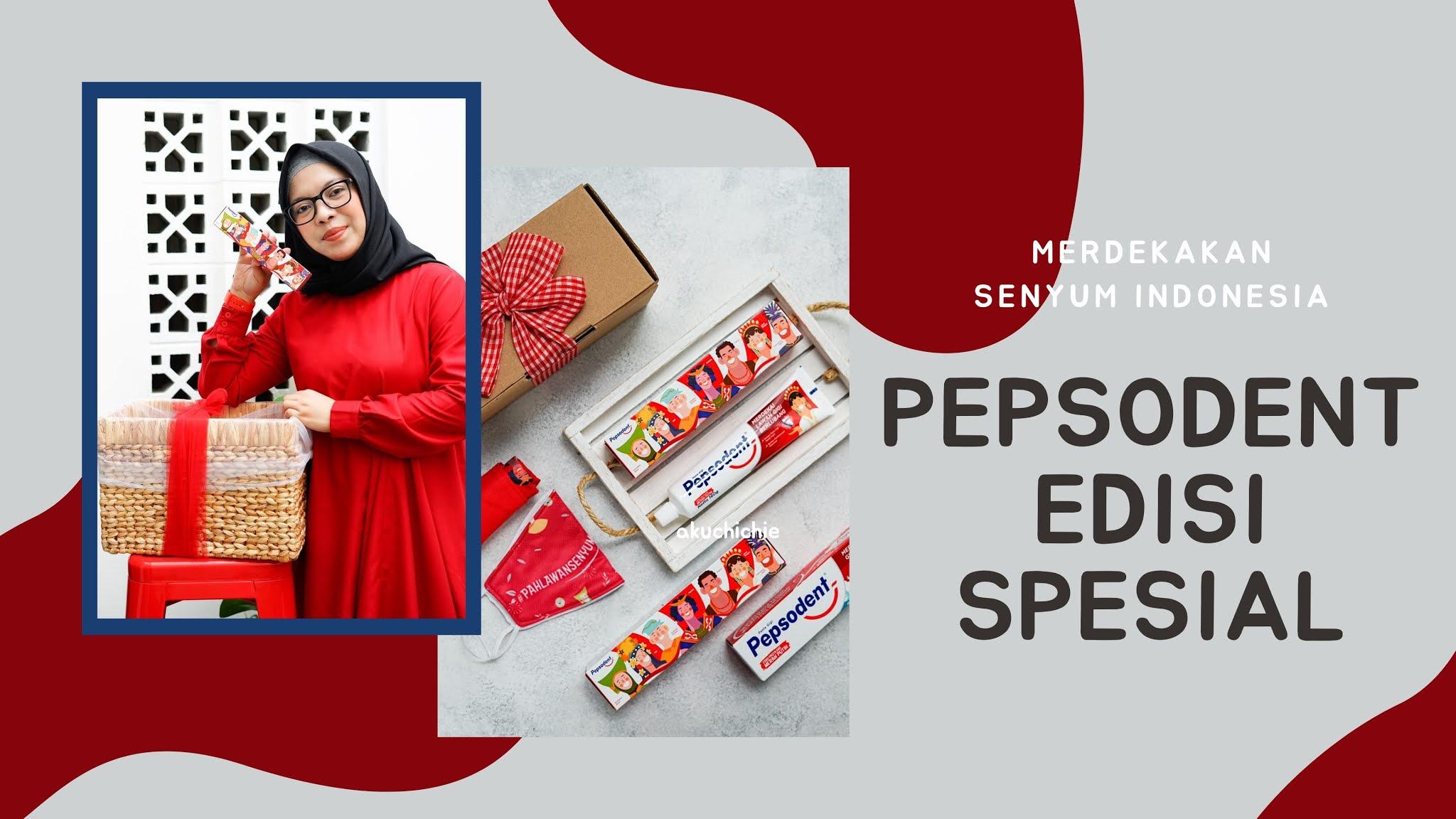 Pepsodent Edisi Spesial Merah Putih