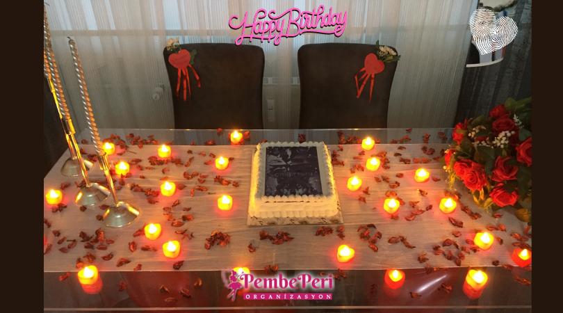 Romantik Doğum Günü Masası Süsleme Ankara