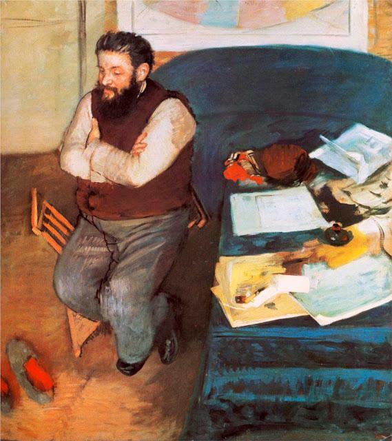Эдгар Дега - Диего Мартелли (1879)