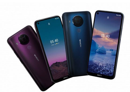 Nokia 5.4 Launched with 6.39-inch display, Snapdragon 662, 48MP Cameras