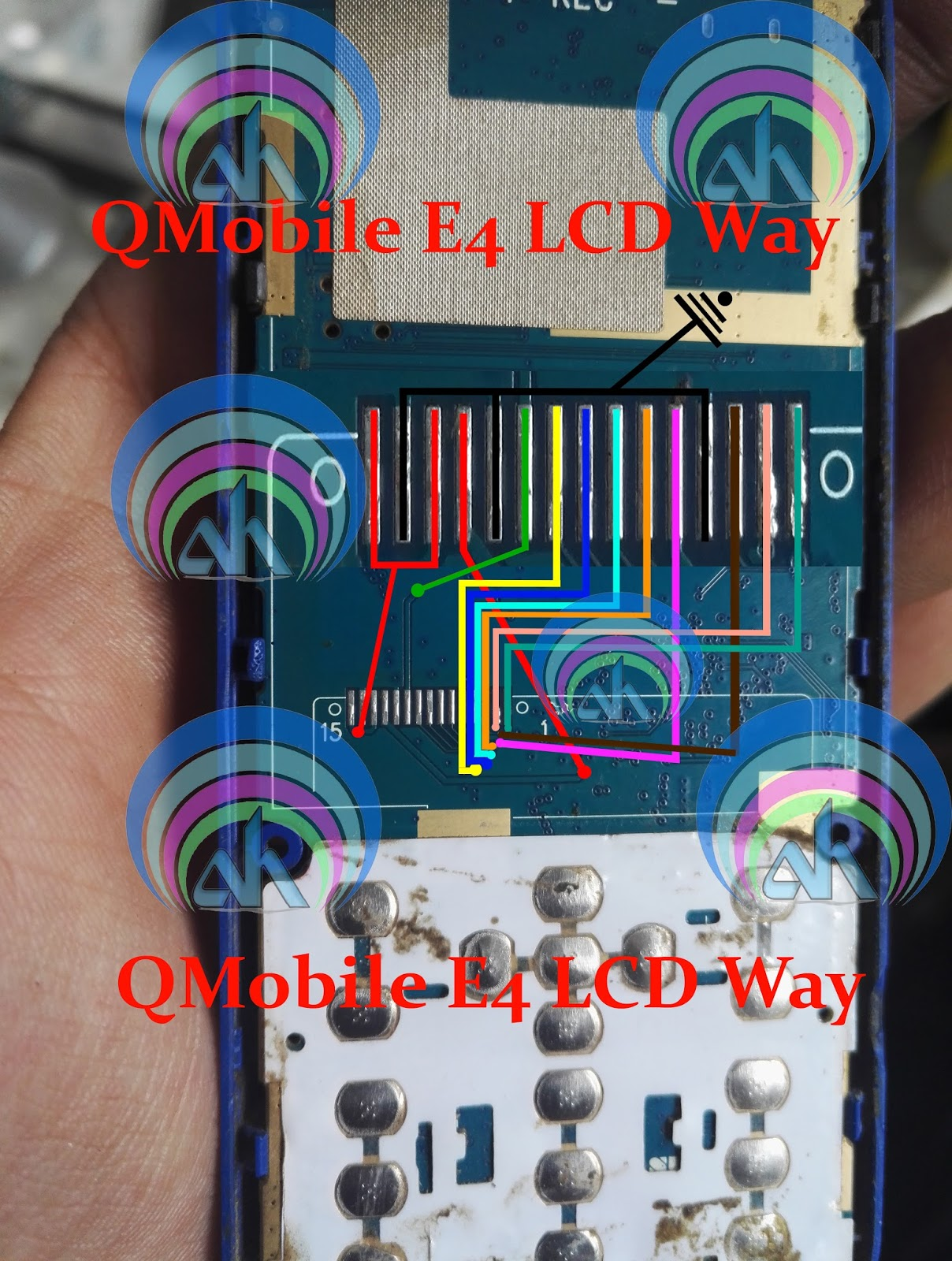 QMobile E4 LCD Ways 100% Working Jumper, Solution Full LCD