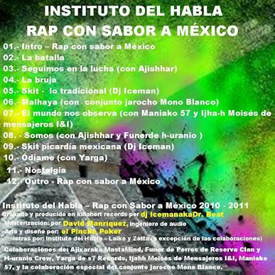 Instituto Del Habla - Rap Con Sabor A México