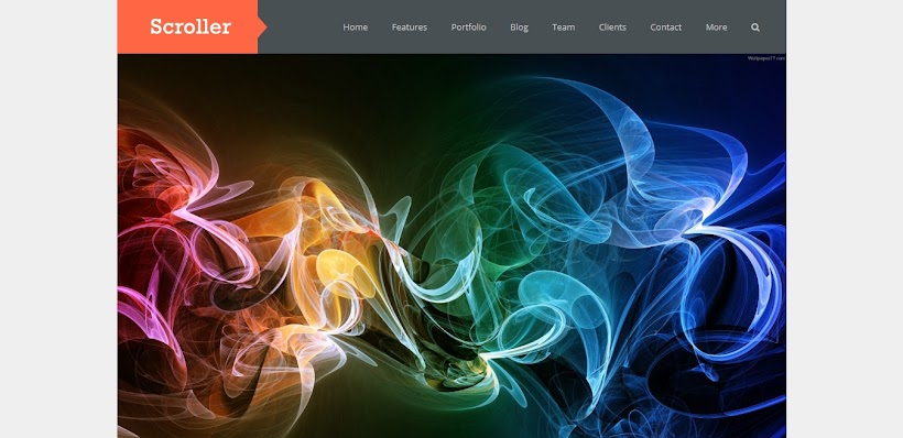 Scroller Free Blogger Template