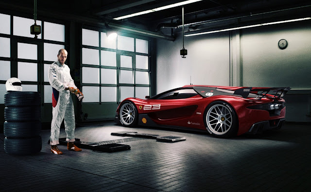 Ferrari Xezri Design Concept Sports Up And Wears Its