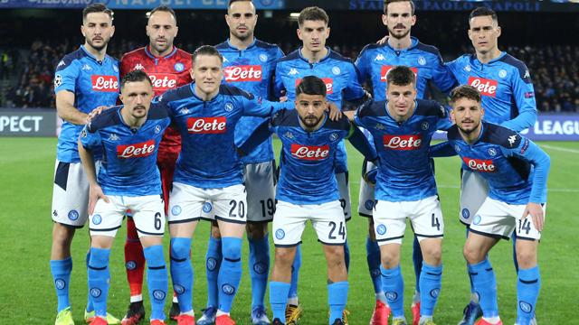 Jadwal Skuad Napoli 2020