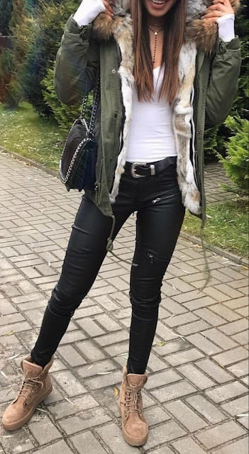 outfits leggings winter