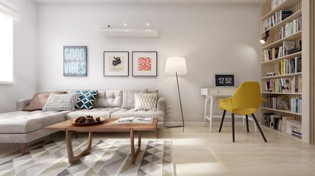 sơn sửa lại căn hộ chung cư giá rẻ tại quận 6