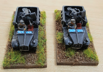Early War German Artillery And Vehicles Vallejo Colours picture 1