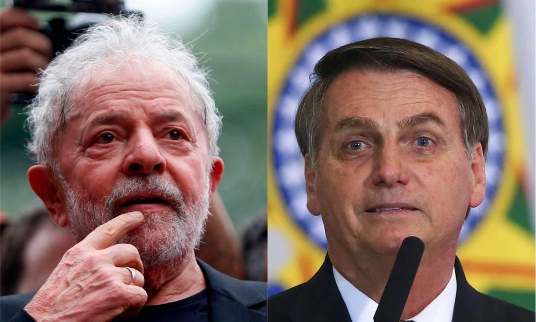 Lula vs Bolsonaro