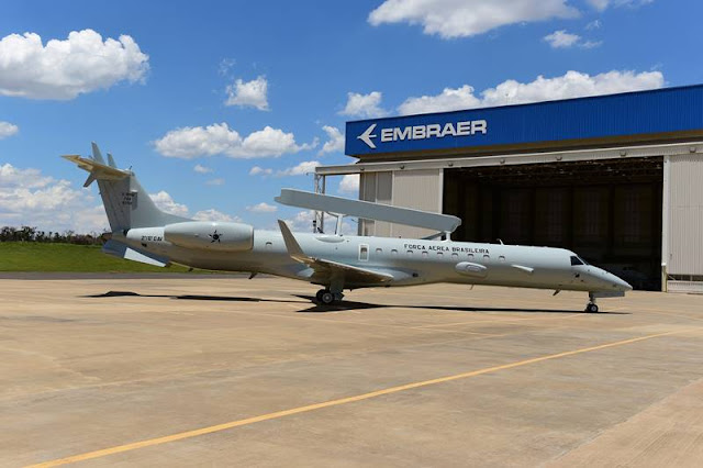 Embraer delivers modernized E99 Brazilian Force