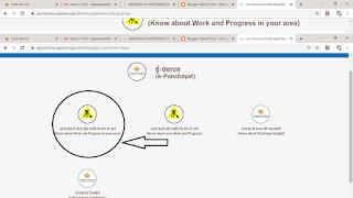 panchayat work ki online details kaise dekhe