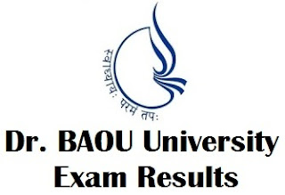 Dr BAOU Ahmedabad Result 2017 Check Now