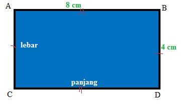 Contoh Soal Latihan Menghitung Keliling Persegi Panjang Matematika Kelas 3 SD