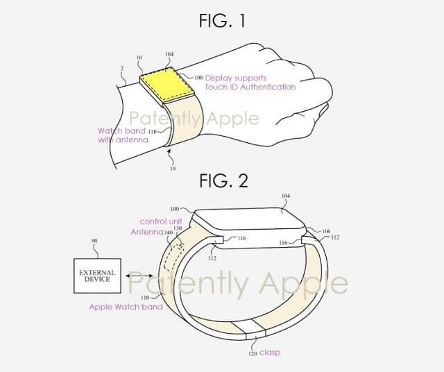 الجيل القادم من Apple Watch قد يحتوي على قارئ بصمات أصابع مدمج بالشاشة
