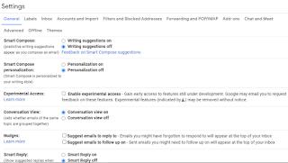 """قم بإيقاف تشغيل ميزات Gmail """"الذكية"""" لتجنب التعقب"""