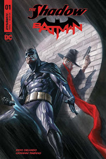 Dynamite & DC Comics Shadow Batman Crossover Comic
