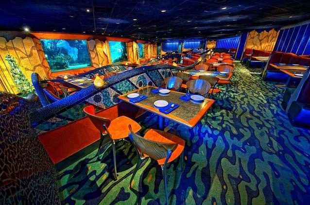 Restaurante Coral Reef em Orlando