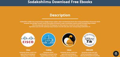 Sodakoh Ilmu, Dapatkan Ebook IT Gratis Berkualitas