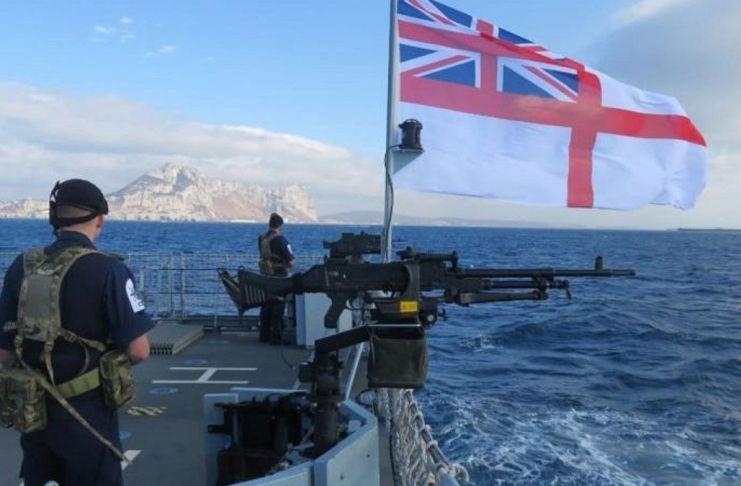 Ejercicios militares en Malvinas