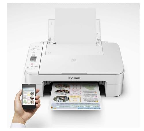 Canon PIXMA TS Series Wireless Inkjet Printer