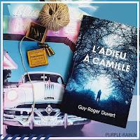 Livre • L'Adieu à Camille - Guy-Roger Duvert