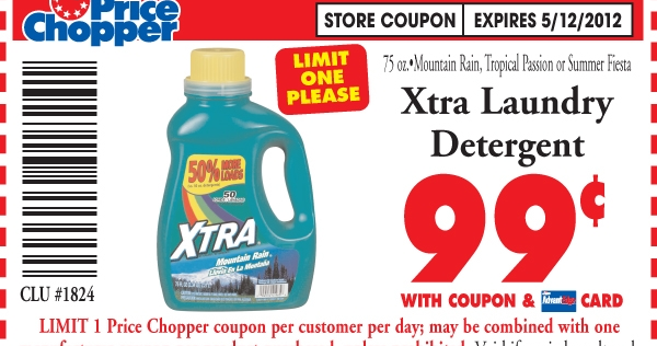 Coupon Crocodile 1 Laundry Detergent At Price Chopper