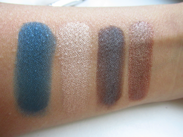 essence quattro eyeshadow 16 down to earth swatches