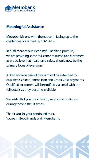 Metrobank Payment Extension