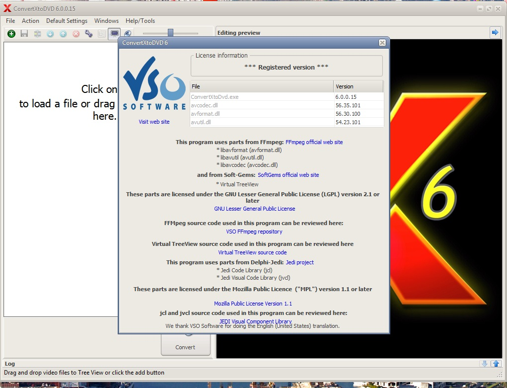 vso burning engine windows 7