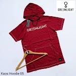 KAOS HOODIE GREENLIGHT KH05
