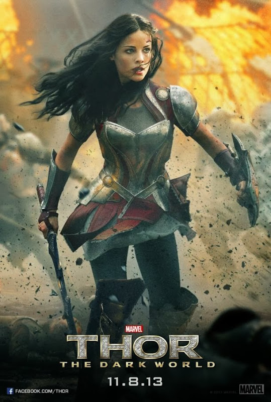 Sif Thor Dark World movie poster