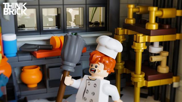 Ratatouille Kitchen LEGO Linguini