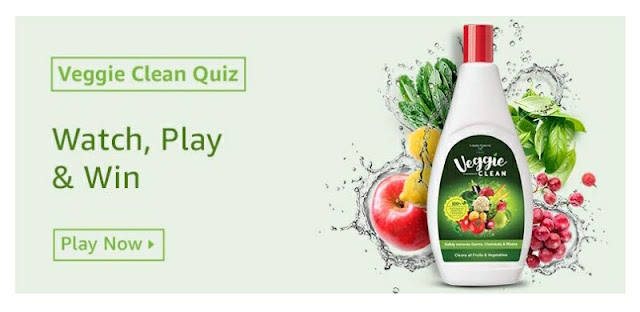 Veggie Clean Quiz watch play and win