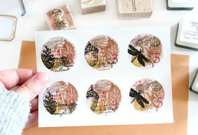 DIY: hoe ik stickers maak met stempels en inkt
