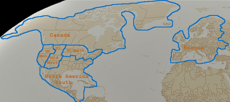 Supercraft Official Website - World map blank subdivisions