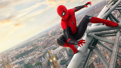 Spider-Man Far From Home London Eye