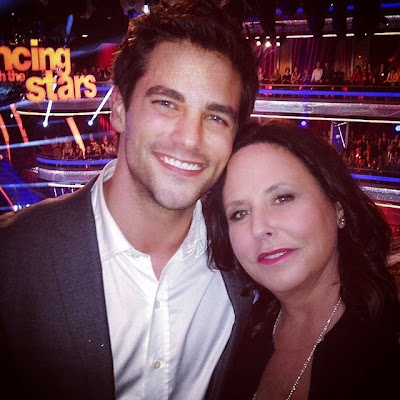 Brant Daugherty and Marlene King DWTS