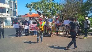 Front Rakyat Indonesia Untuk West Papua dan Aliansi Mahasiswa Papua Menggelar Aksi Demonstrasi Menolak OTSUS JILID II